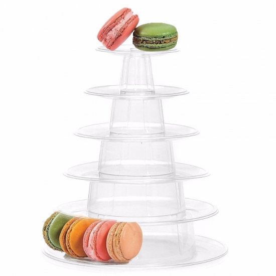 6 tiers macarons packaging